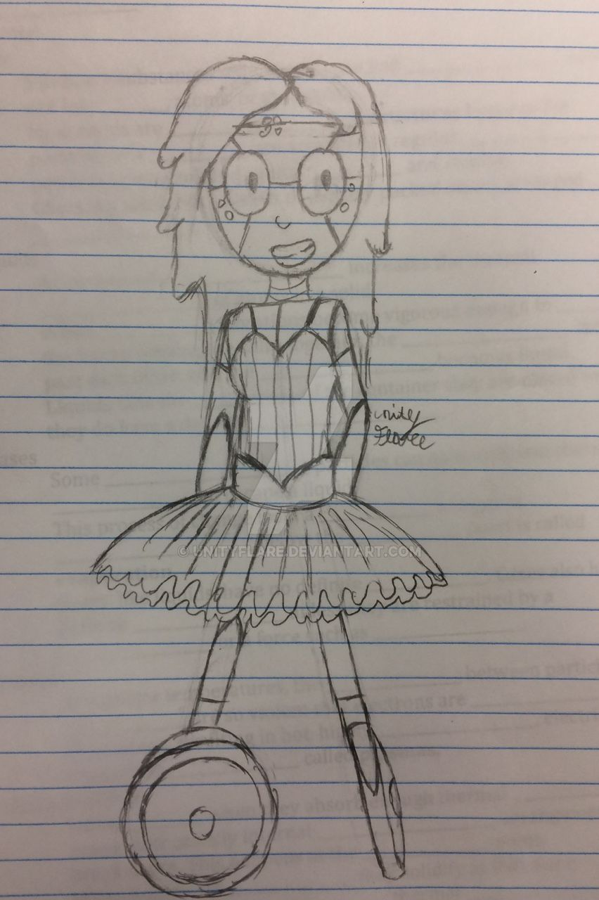 Carter in a tutu by UnityFlare
