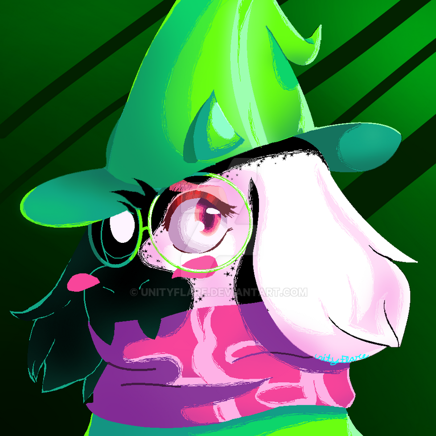 Free Ralsei Icon (Give Credit) by UnityFlare