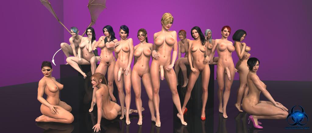 Ladies of the Apocalypse by Apocalypse3DX