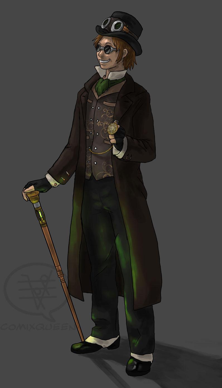 Steampunk Guy by comixqueen on DeviantArt
