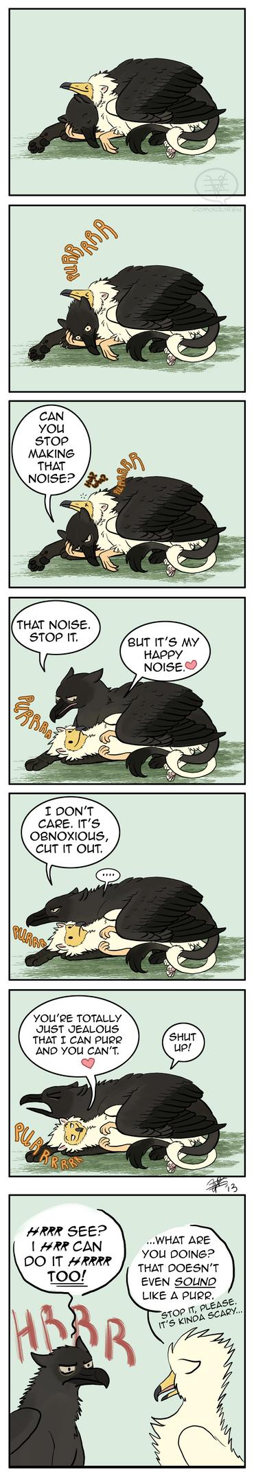Happy Noise by comixqueen