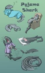SHARK WEEK 2014 #4- Pyjama by comixqueen
