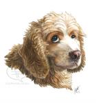 Portrait Commission - Cooper by comixqueen
