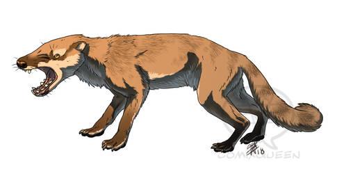 Hyaenodon mustelinus by comixqueen