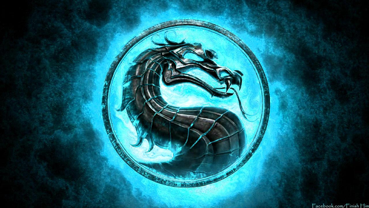 Mortal Kombat 9 2011 Blue Logo By Mkfan786 On Deviantart