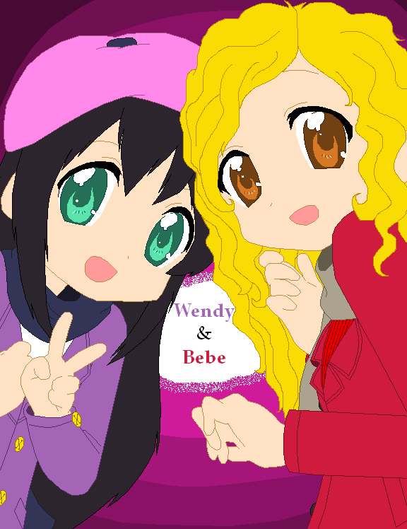 An old pic of Wendy and Bebe by Kitty-McGeeky97 on DeviantArt