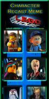 Character Recast Meme - The Animation Movie