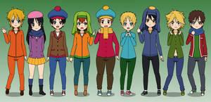 Some Kisekae 2 Styled SP Characters
