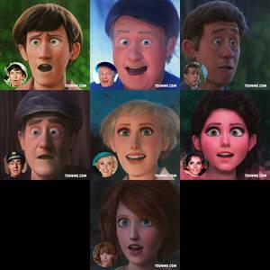 Gilligan's Island but Pixar