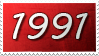 1991 stamp by Mr-Xvious