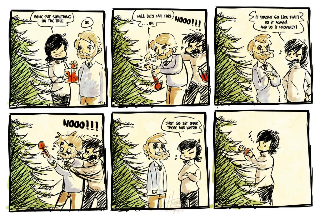 Christmas Tree by Mr-Xvious