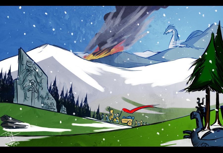 Banner Saga by Mr-Xvious