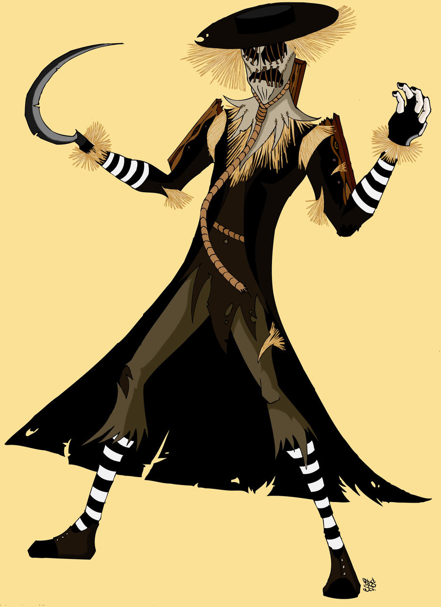 Scarecrow (Burtonized) by otusasio451