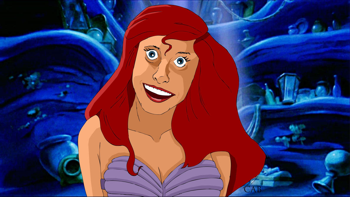 Overly Attached Ariel Template by otusasio451
