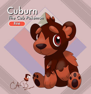 Cuburn, the Cub Pokemon
