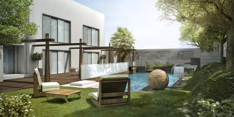 garden pool 3ds max vray by rainwalker007 on deviantart