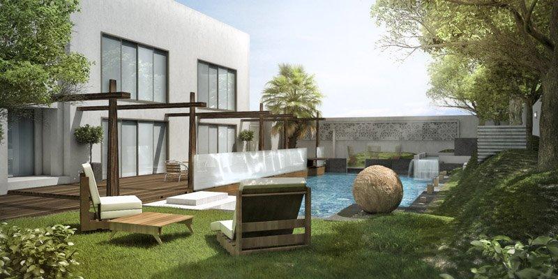Garden Pool 3ds Max Vray By Rainwalker007 On Deviantart