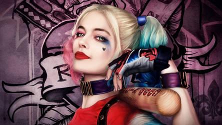 Harley Quinn - Suicide Squad - Fan Art by rainwalker007