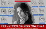 Top 10 ways to draw the head (Video Series)