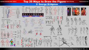 Top 20 Ways to Draw the Figure (2-George Bridgman)