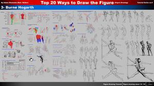 Top 20 Ways to Draw the Figure (3-Burne Hogarth)