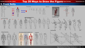 Top 20 ways to draw the figure Ch. 5-Frank Reilly by rainwalker007