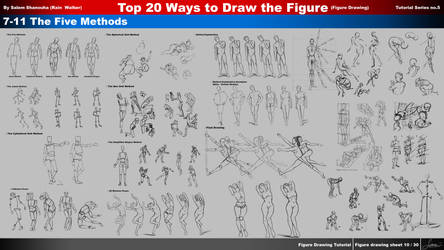 Top 20 Ways to Draw the Figure (ch7,8,9,10,11)