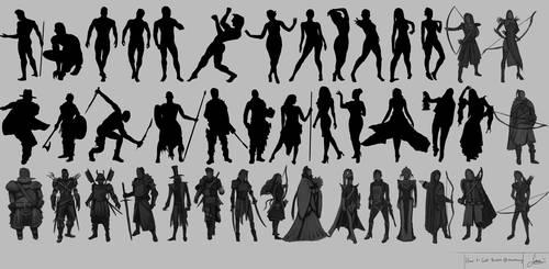 How to Get Better @Thumbnailing 4 Character Design by rainwalker007