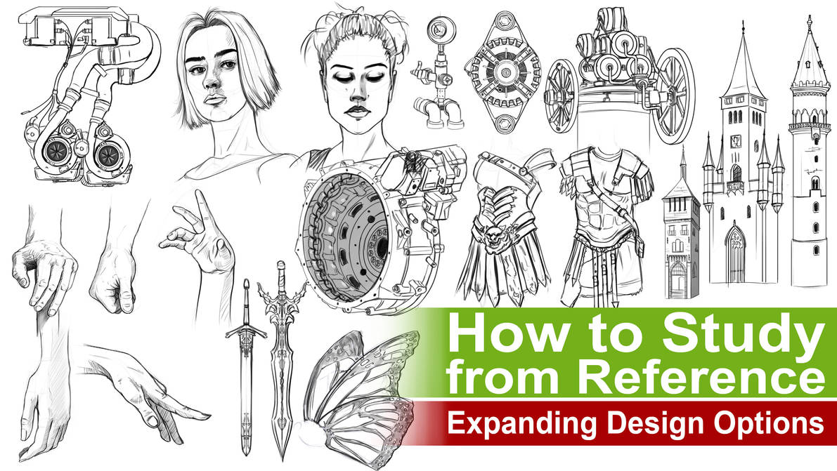 Exploring Design Options from Reference by rainwalker007