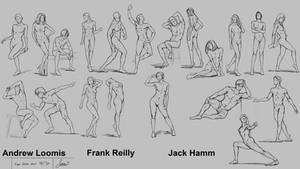 Figure Drawing Session 14
