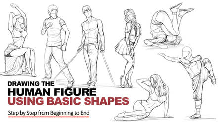 Drawing the Human Figure Using Basic Shapes Course