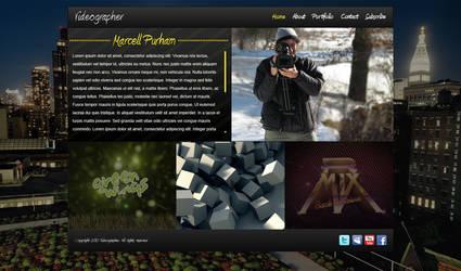 Videographer Website Portfolio