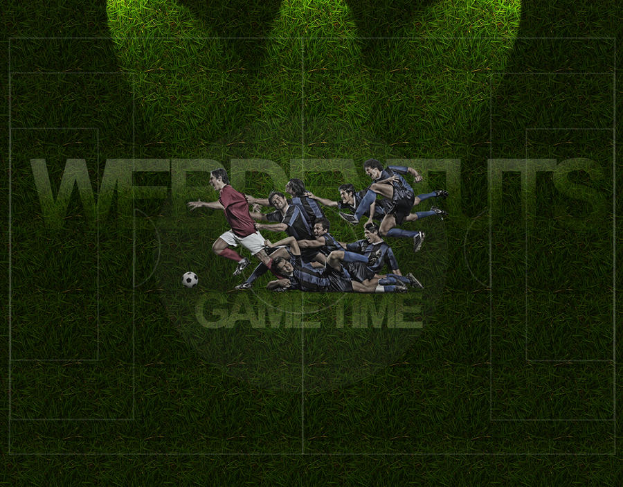 Soccer Desktop Wallpaper by Marc3ll