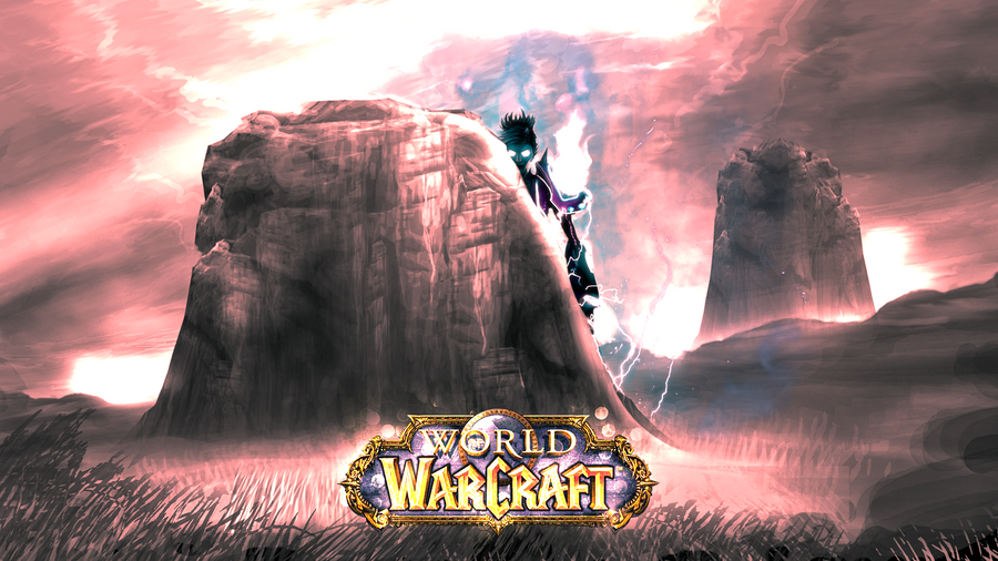 world of warcraft wallpaper widescreen. World Of Warcraft Wallpaper by