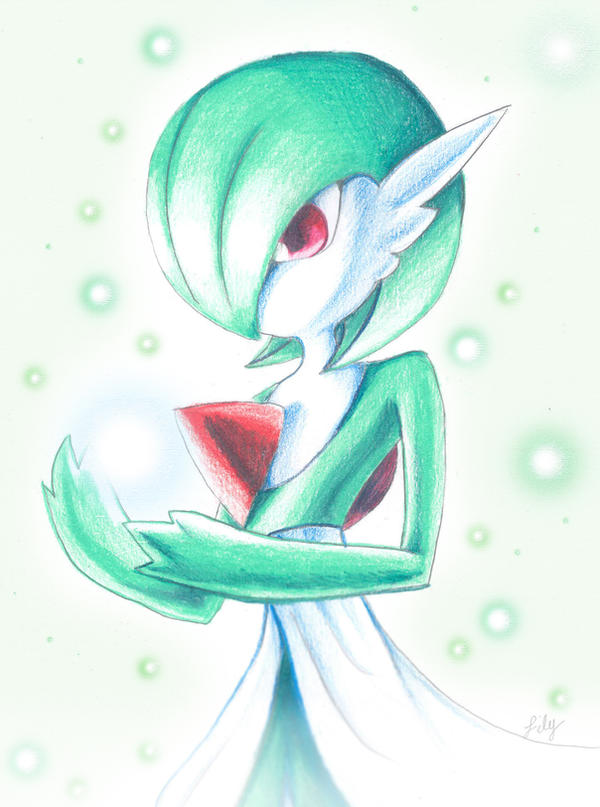 Pokemon: Gardevoir by pegacorn