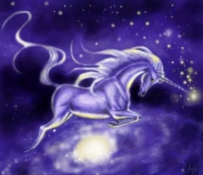 Unicorn Galaxia by pegacorn