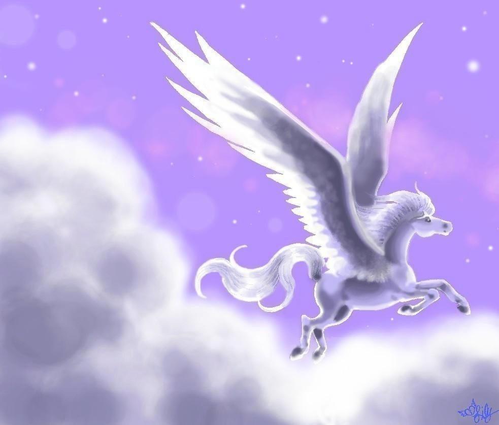 Mystic Angel by pegacorn