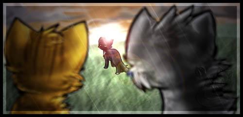 Ravenpaw's Departure by Nifty-senpai