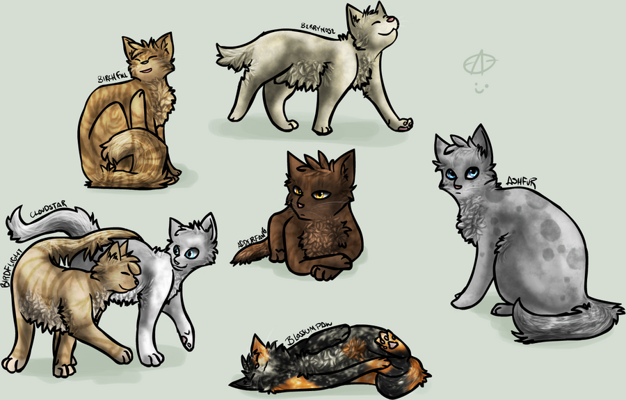 Warrior Cats Group 1 by Nifty-senpai