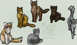 Warrior Cats Group 2