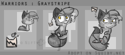 Squiby - Graystripe by Nifty-senpai
