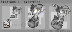 Squiby - Graystripe by Nifty-senpai