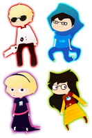Homestuck Kids by Nifty-senpai