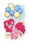 Pinkie Pie Partying