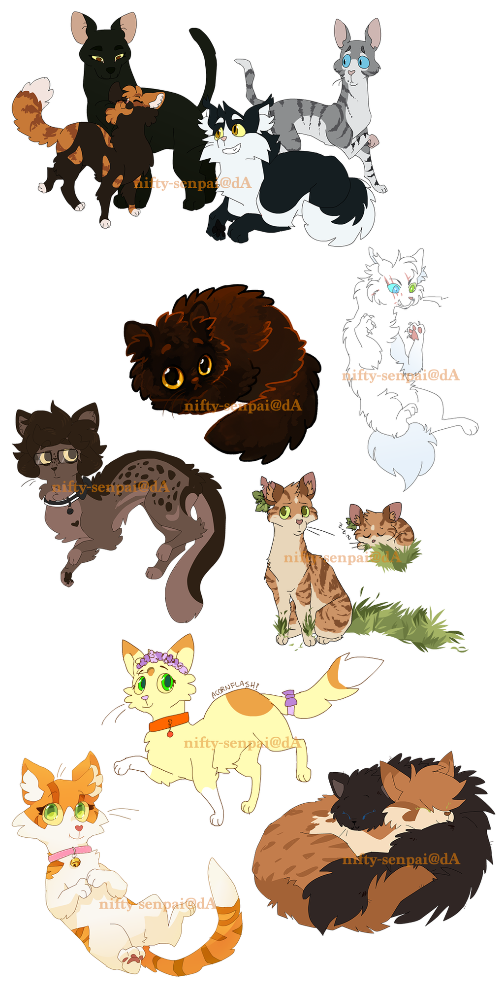 Commission batch 3 by nifty senpai on deviantart for Nifty family