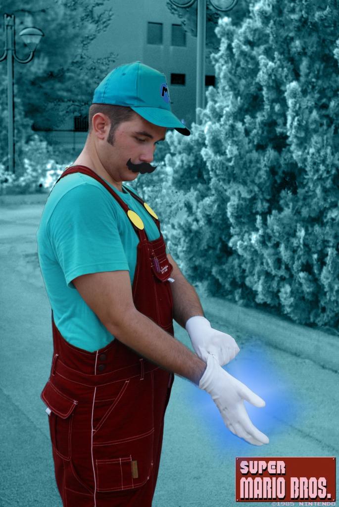 Ice Mario by ANTONIOMASTERPERES