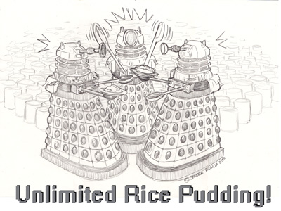 Unlimited Rice Pudding by Sandraugiga