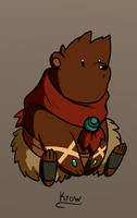 DND Krow Bear by Wrenzephyr2