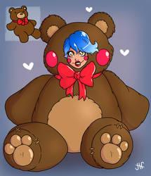 12 Baes of Christmas: Bear Hug by Wrenzephyr2