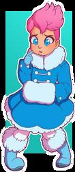 CMSN: Zarya Snow Bunny by Wrenzephyr2